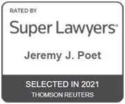 Super Lawyers | JEREMY J. POET